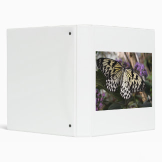 Tree Nymph Butterfly 3 Ring Binder