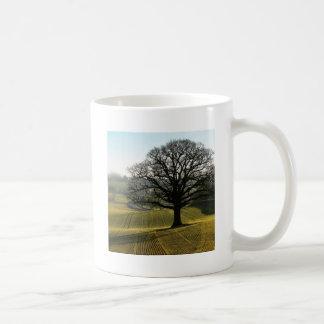 Tree Oaks Enormous Classic White Coffee Mug