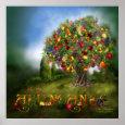 Tree Of Abundance Art Poster/Print print