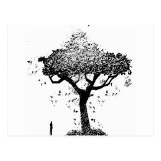 Tree Of Ash Postcard