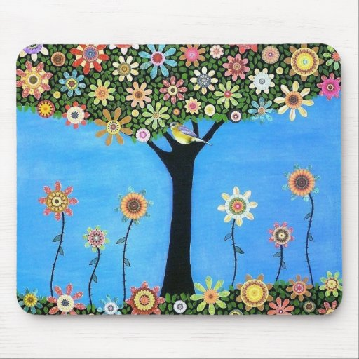 Tree of Beauty Mouse Pad
