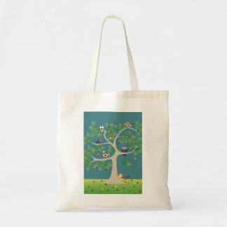 tree OF birds Tote Bag