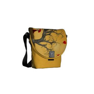 Tree of Broken Hearts Courier Bag