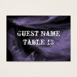 Tree of Broken Hearts Gothic Table Number Card