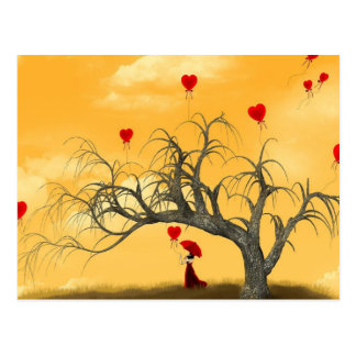 Tree of Broken Hearts Postcard
