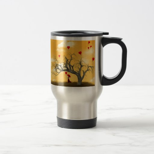 Tree of Broken Hearts Travel Mug