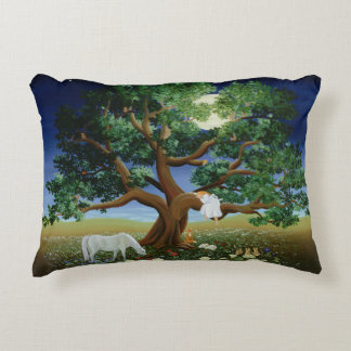 Tree of Dreams 1994 Decorative Pillow