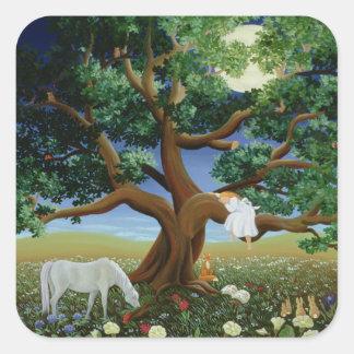 Tree of Dreams 1994 Square Sticker
