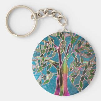 Tree of Enchantment Keyring Basic Round Button Keychain