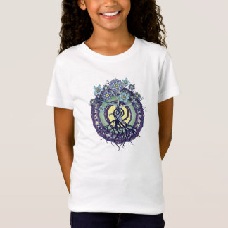 Tree of Enlightenment Mandala Girls T Shirt