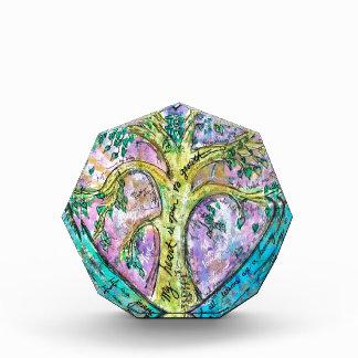 Tree of growth acrylic award
