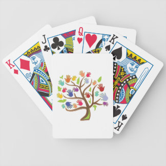 Tree Of Hands Bicycle Playing Cards