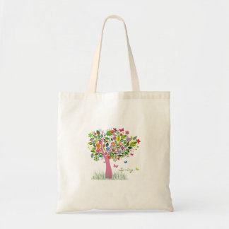 Tree of Happiness Budget Tote