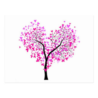 Tree of Hears Postcard