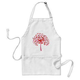 Tree Of Hearts Adult Apron