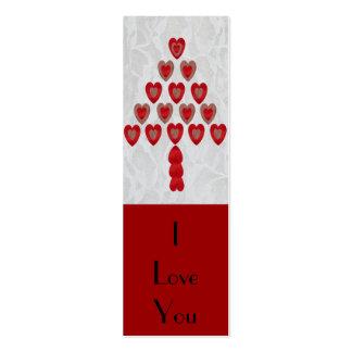 Tree of Hearts, Bookmark Mini Business Card