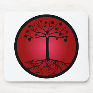 Tree of Hearts Mouse Pad