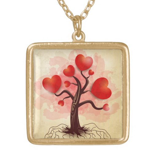 Tree of Hearts Pendants