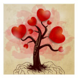 Tree of Hearts Poster