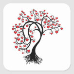 Tree of Hearts Stickers