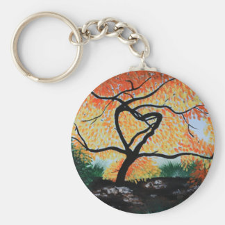 Tree of Hope Basic Round Button Keychain