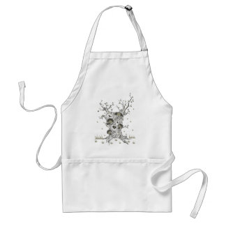 Tree of imagination adult apron