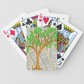 TREE OF KNOWLEDGE BICYCLE PLAYING CARDS