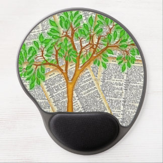 TREE OF KNOWLEDGE GEL MOUSE PAD