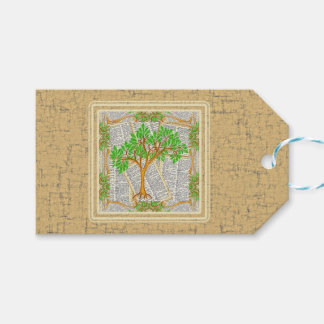 TREE OF KNOWLEDGE GIFT TAGS