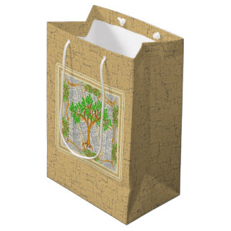 TREE OF KNOWLEDGE MEDIUM GIFT BAG