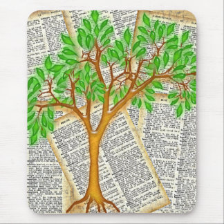 TREE OF KNOWLEDGE MOUSE PAD