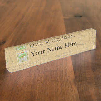 TREE OF KNOWLEDGE NAME PLATE