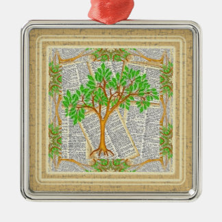 TREE OF KNOWLEDGE CHRISTMAS TREE ORNAMENT