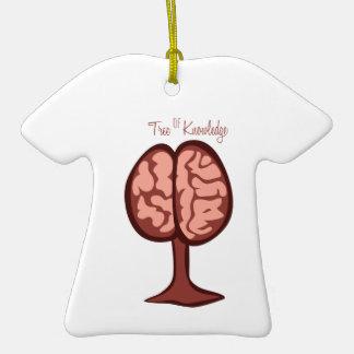 Tree Of Knowledge Ceramic T-Shirt Ornament