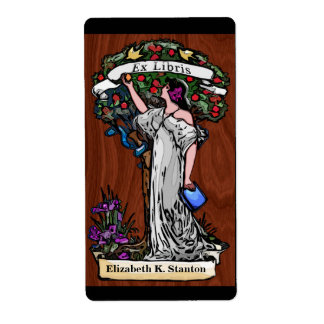 Tree of Knowledge Personalized Bookplate