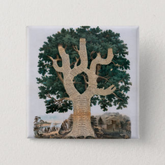 Tree Of Knowledge Pinback Button
