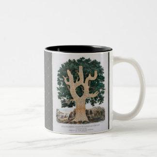 Tree Of Knowledge Two-Tone Coffee Mug