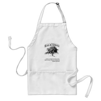 tree of liberty adult apron