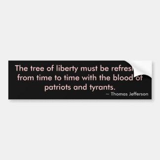 Tree of Liberty Bumper Sticker