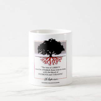 Tree Of Liberty Classic White Coffee Mug