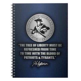 Tree of Liberty Notebook