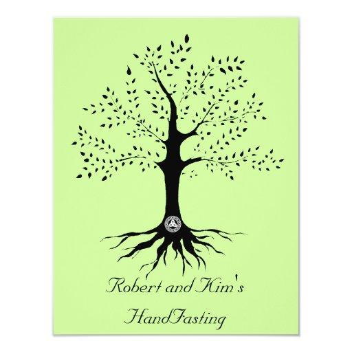 "Tree of Life 4.25"" X 5.5"" Invitation Card"