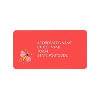 Tree of Life Address Label 2 label