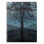Tree of Life Alone in Peace Spiral Notebook (<em>$13.70</em>)