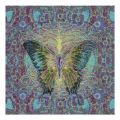 Tree of Life and Butterfly Poster (<em>$18.75</em>)