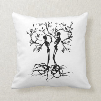 Tree of life apart throw pillow