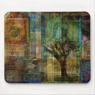 TREE OF LIFE art painting Mouse Pad
