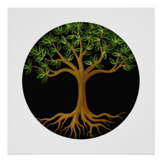 Tree of Life art print poster