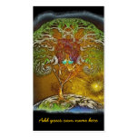 Tree Of Life Artwork Double-Sided Standard Business Cards (Pack Of 100)
