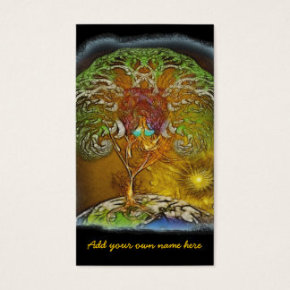 Tree Of Life Artwork Business Card